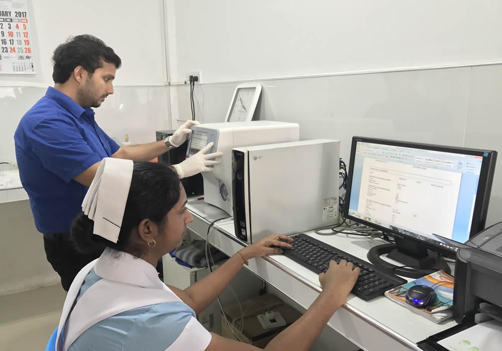Laboratory Assistance - Mrs.A.Priyadarshani