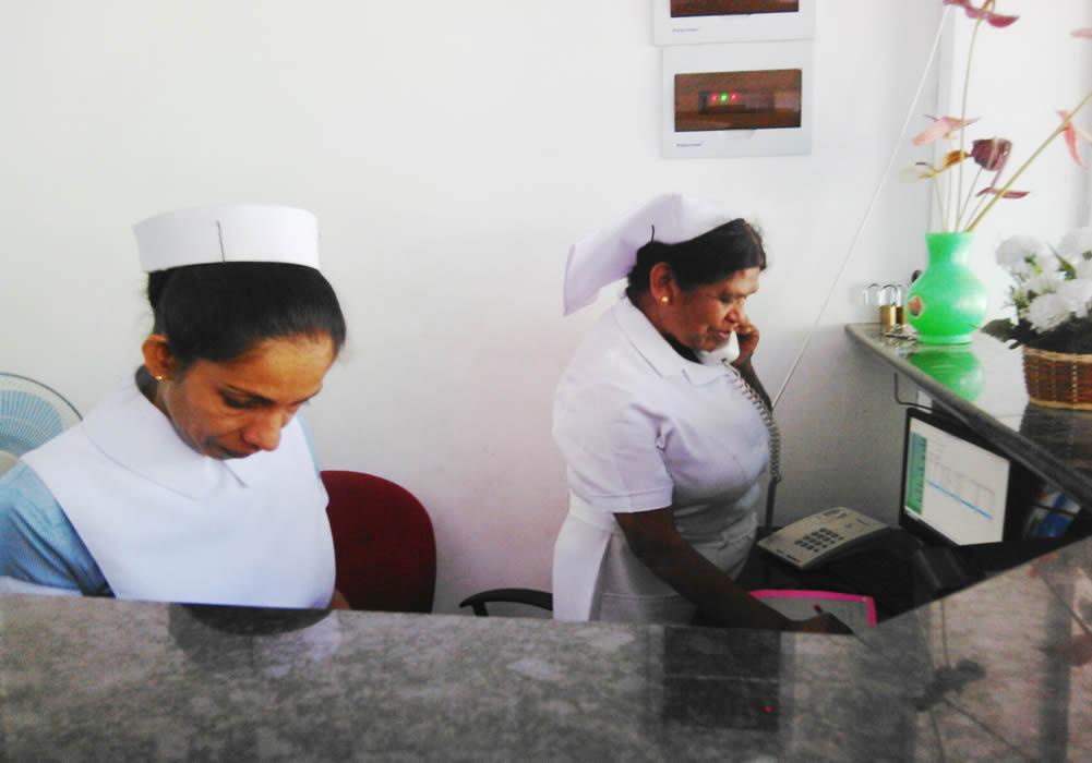 Qualified Nurses on duty